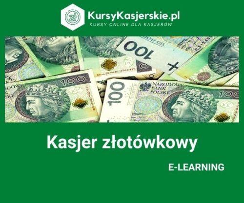 Kasjer złotówkowy (e-learning)