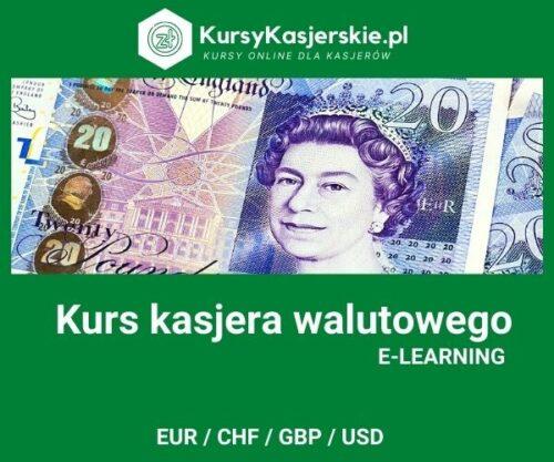 Kurs kasjer walutowy (e-learning)