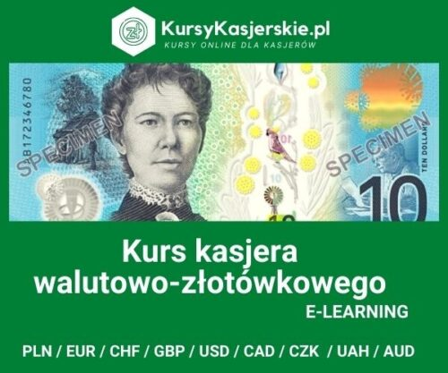 Kasjer walutowo-złotówkowy 9 walut (e-learning)